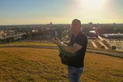 Videodreh mit Burkhard Peine