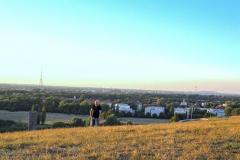 Burkhard Peine schaut auf Magdeburg