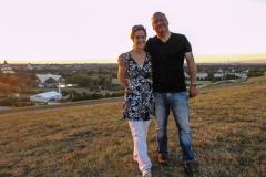 Burkhard Peine mit seiner Frau