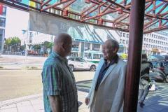 Burkhard Peine mit Michael Mendl