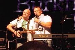 Burkhard Peine live auf der Bühne