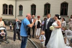 Burkhard Peine singt live vor dem Brautpaar