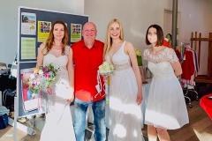 Burkhard Peine auf der Hochzeitsmesse