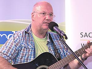 Burkhard Peine in Berlin bei der Kultursommernacht