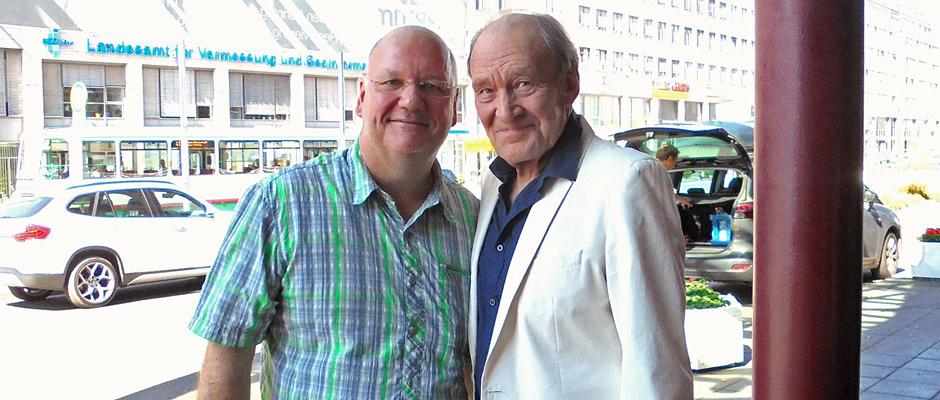 Michael Mendl und Burkhard Peine